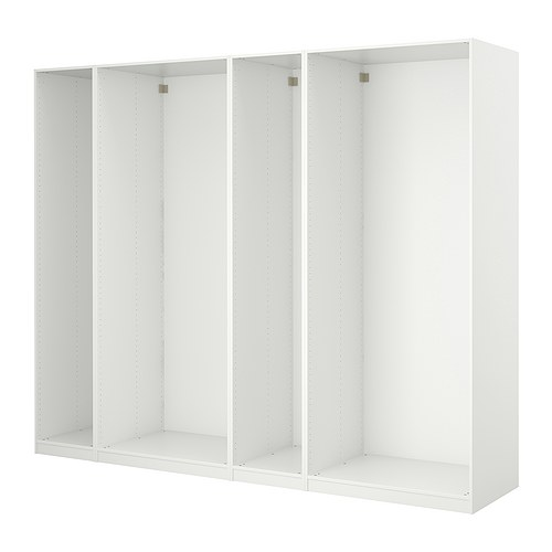 PAX - 4 wardrobe frames, white | IKEA Hong Kong and Macau - PE254379_S4