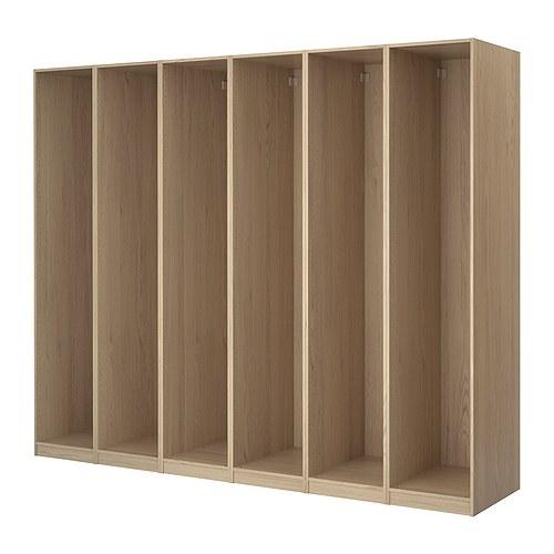 PAX 6 wardrobe frames
