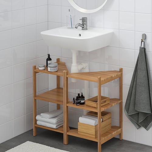 TYNGEN/RÅGRUND 雙門洗手盆地櫃