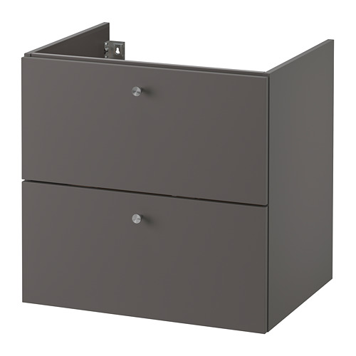 GODMORGON - wash-stand with 2 drawers, Gillburen dark grey | IKEA Hong Kong and Macau - PE776902_S4