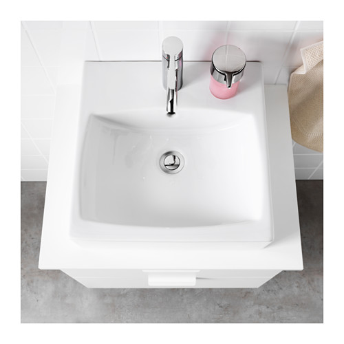 TÖRNVIKEN - 櫃台板用洗手盆, 白色 | IKEA 香港及澳門 - PE523970_S4