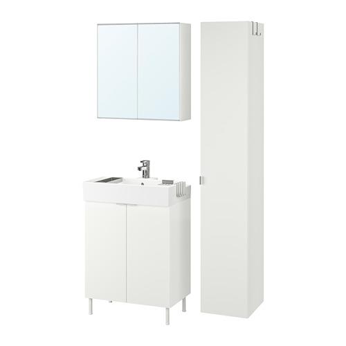 LILLÅNGEN/LILLÅNGEN 浴室貯物組合 6件裝