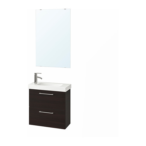 GODMORGON/HAGAVIKEN 浴室貯物組合 4件裝