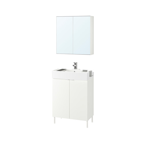LILLÅNGEN/LILLÅNGEN bathroom furniture, set of 5
