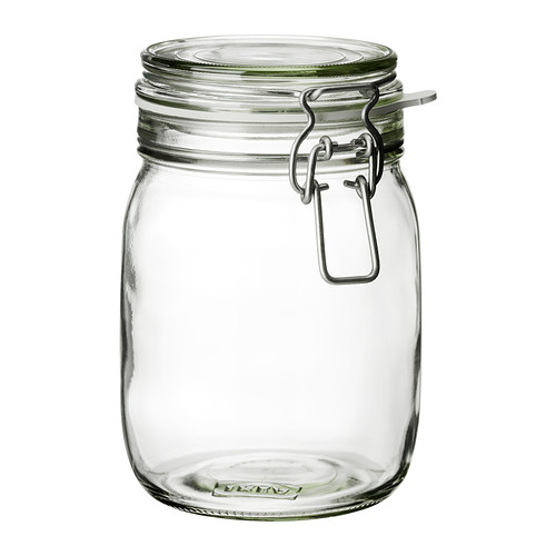 KORKEN - jar with lid, clear glass | IKEA Hong Kong and Macau - PE285442_S4