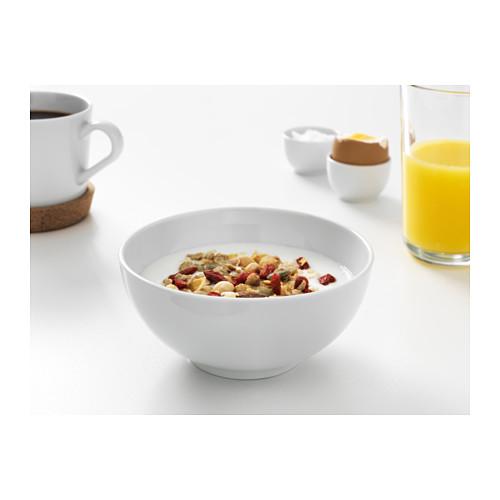 IKEA 365+ - bowl, rounded sides white, 13cm | IKEA Hong Kong and Macau - PE523127_S4