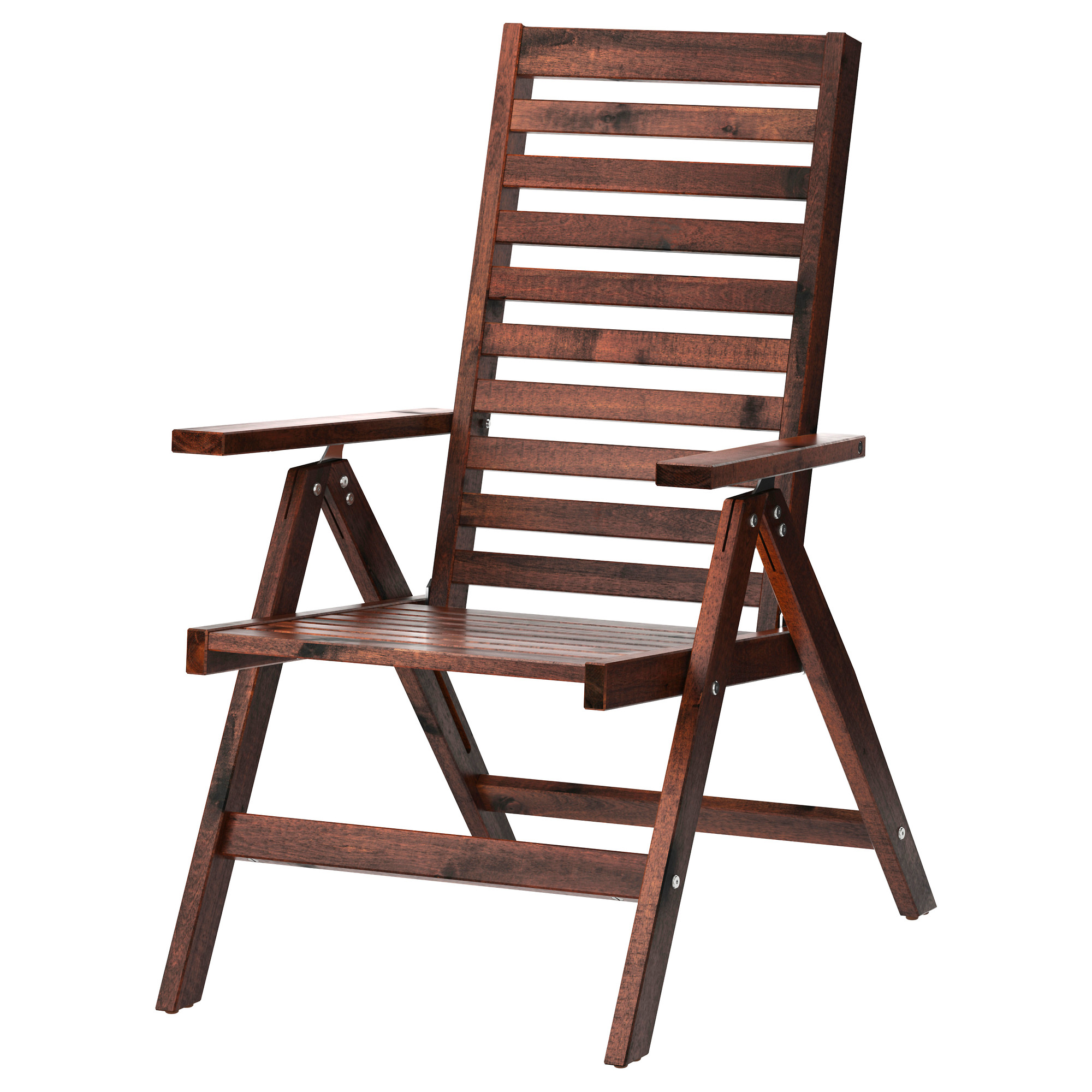 Picture of: Applaro Reclining Chair Outdoor Foldable Brown Stained Ikea Hong Kong And Macau