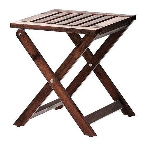 ÄPPLARÖ - 戶外凳, 可摺合 染褐色 | IKEA 香港及澳門 - PE285706_S4