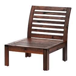ÄPPLARÖ - 戶外單座位梳化, 染褐色 | IKEA 香港及澳門 - PE285708_S3