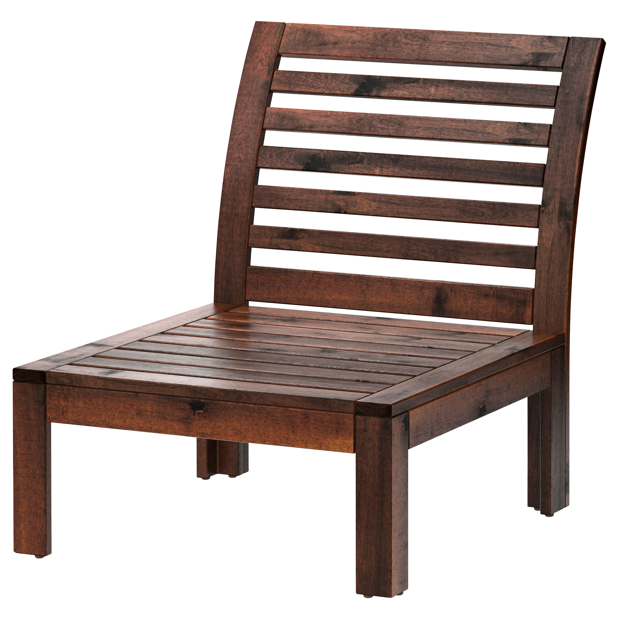 Applaro One Seat Section Outdoor Brown Stained Ikea Hong Kong And Macau