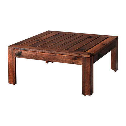 ÄPPLARÖ - table/stool section, outdoor, brown stained | IKEA Hong Kong and Macau - PE285711_S4