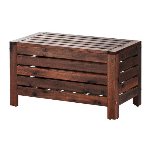 ÄPPLARÖ - storage bench, outdoor, brown stained | IKEA Hong Kong and Macau - PE285715_S4