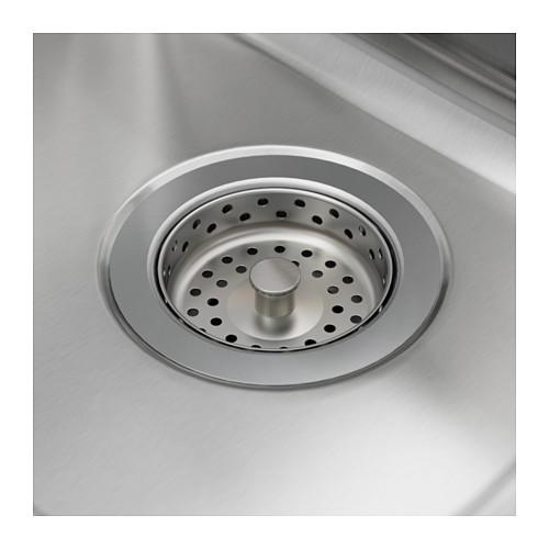 HILLESJÖN - 子母星盆, 不銹鋼 | IKEA 香港及澳門 - PE585216_S4