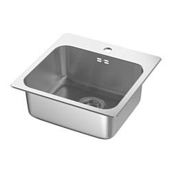 LÅNGUDDEN - inset sink, 1 bowl, stainless steel | IKEA Hong Kong and Macau - PE585229_S3