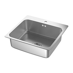 LÅNGUDDEN - inset sink, 1 bowl, stainless steel | IKEA Hong Kong and Macau - PE585233_S3