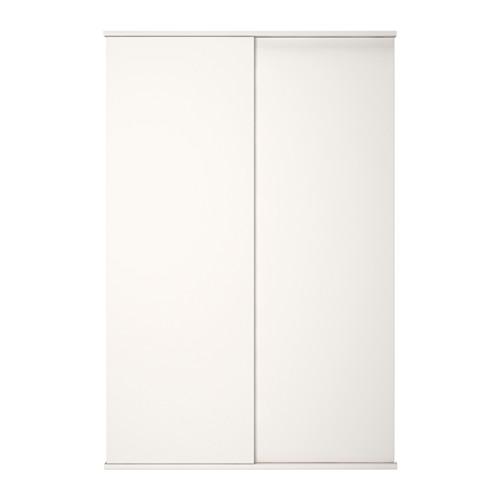 FONNES - sliding door with rail, white | IKEA Hong Kong and Macau - PE647193_S4