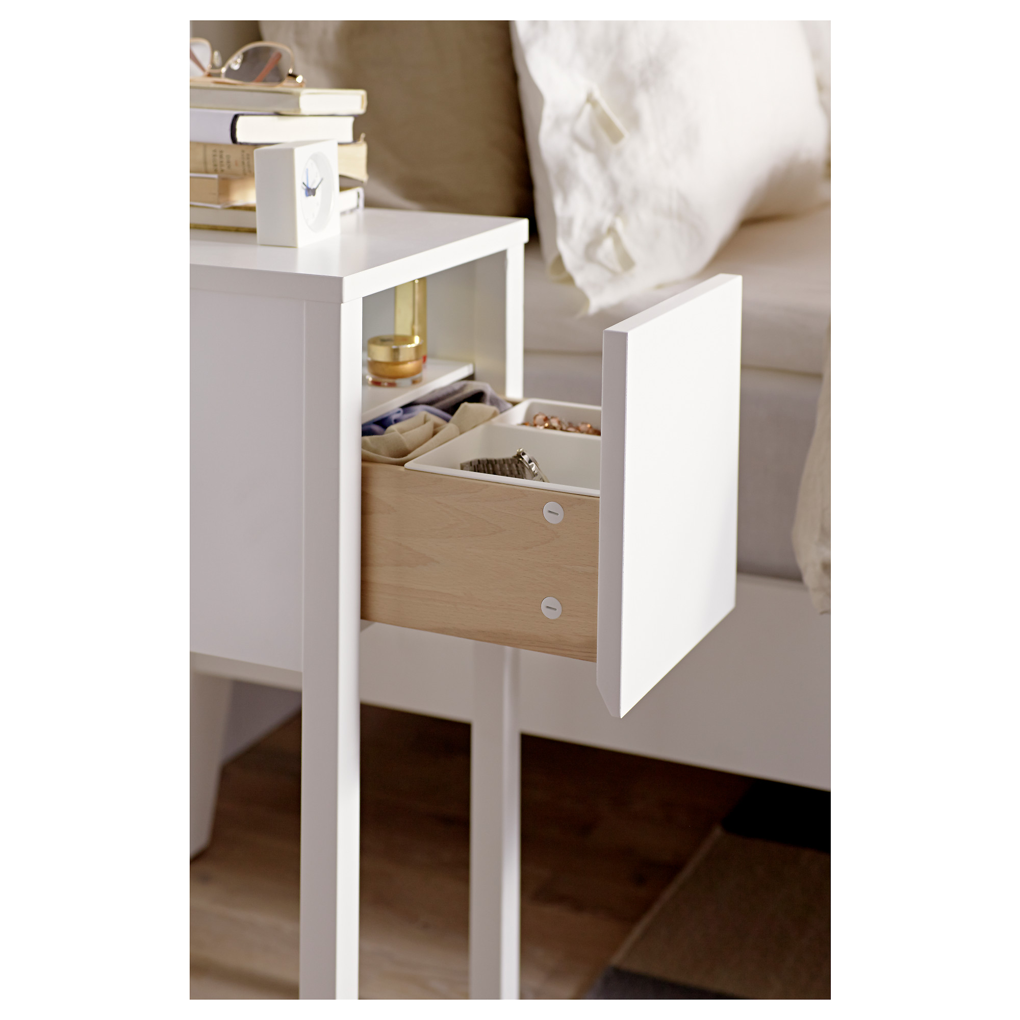 Nordli Bedside Table White Ikea Hong Kong