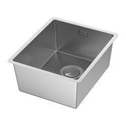 NORRSJÖN - inset sink, 1 bowl, stainless steel | IKEA Hong Kong and Macau - PE585251_S3