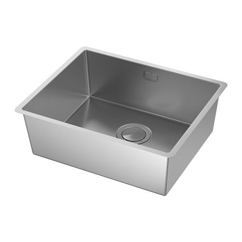 NORRSJÖN - inset sink, 1 bowl, stainless steel   IKEA Hong Kong and Macau - PE585258_S4