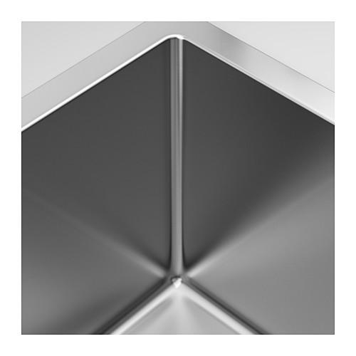 NORRSJÖN - inset sink, 1 bowl, stainless steel   IKEA Hong Kong and Macau - PE585261_S4