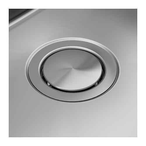NORRSJÖN - inset sink, 1 bowl, stainless steel   IKEA Hong Kong and Macau - PE585256_S4