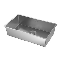 NORRSJÖN - inset sink, 1 bowl, stainless steel | IKEA Hong Kong and Macau - PE585266_S3