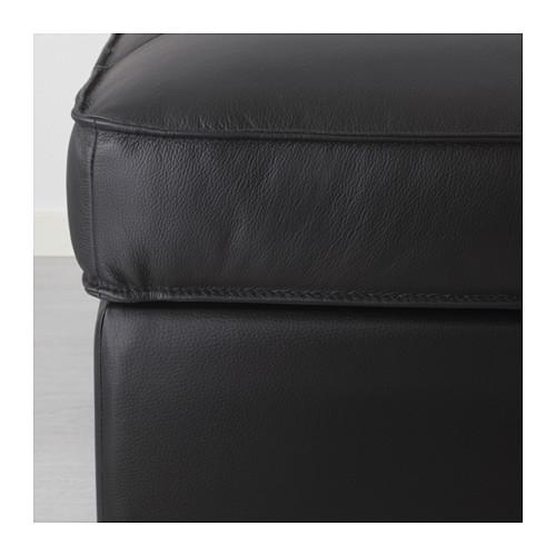 KIVIK - footstool, Grann/Bomstad black | IKEA Hong Kong and Macau - PE585333_S4