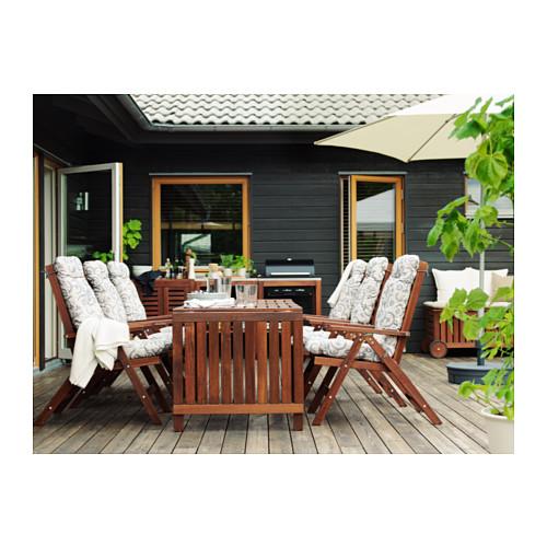 ÄPPLARÖ - drop-leaf table, outdoor, brown stained | IKEA Hong Kong and Macau - PH139969_S4