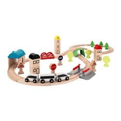 LILLABO - 火車玩具組合,45件套裝 | IKEA 香港及澳門 - PE647252_S3