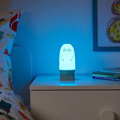 SPIKEN - LED night light, otter-shaped battery-operated/multicolour   IKEA Hong Kong and Macau - PE777012_S4