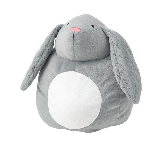 PEKHULT - 毛公仔連LED夜燈, grey rabbit/battery-operated | IKEA 香港及澳門 - PE777022_S4