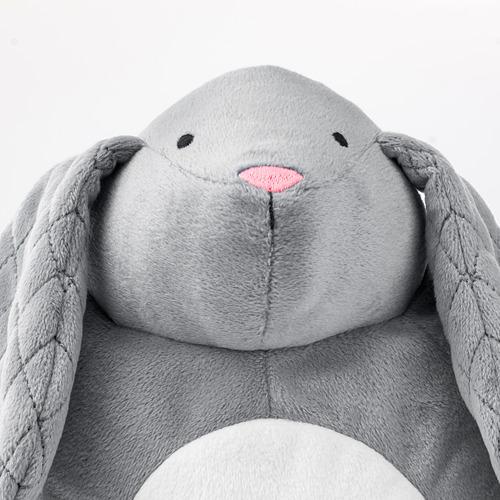 PEKHULT - 毛公仔連LED夜燈, grey rabbit/battery-operated | IKEA 香港及澳門 - PE777029_S4