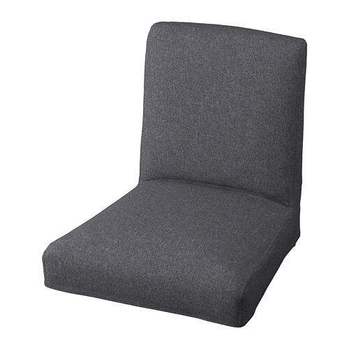 BERGMUND - 高腳凳連靠背椅套, Gunnared 暗灰色   IKEA 香港及澳門 - PE791038_S4