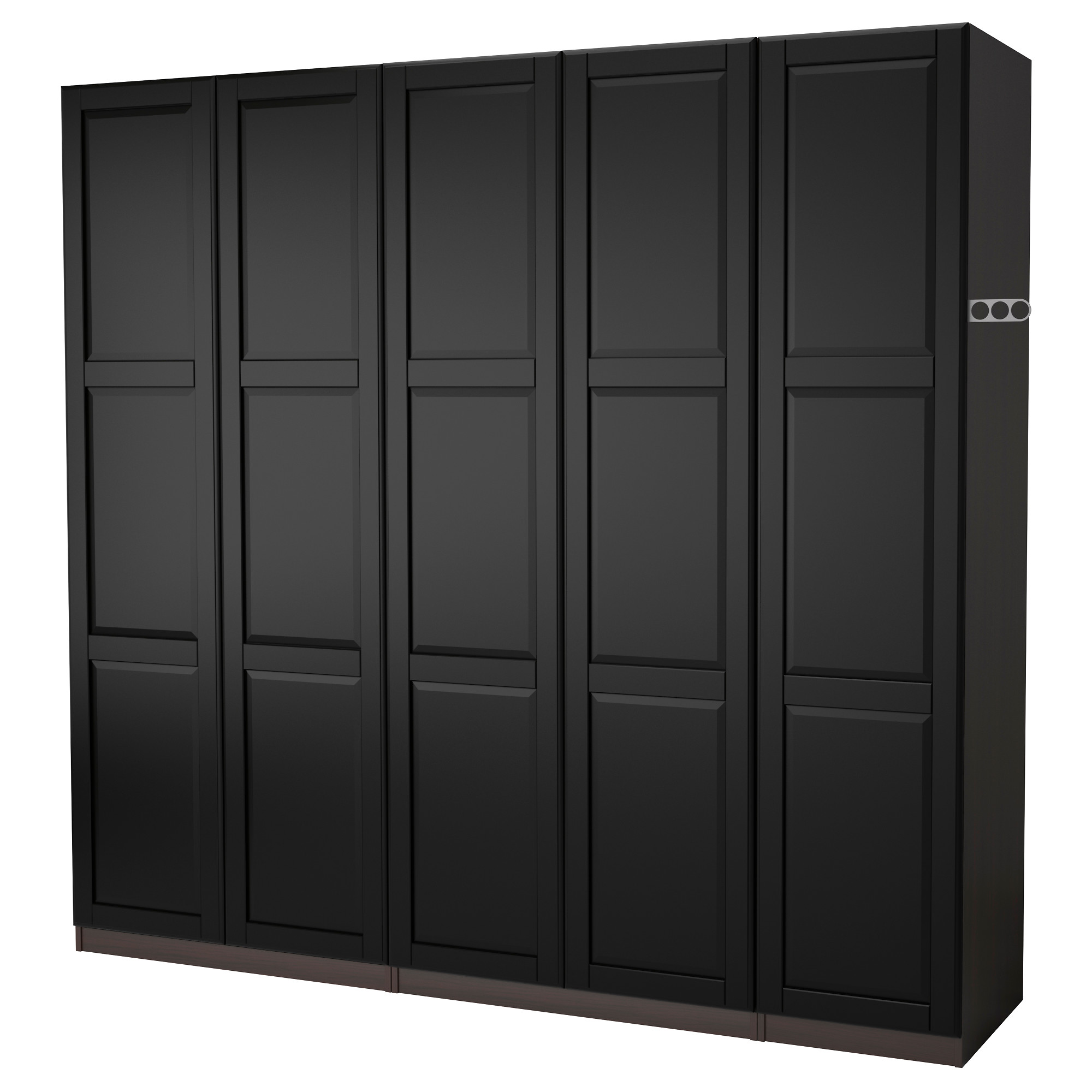 new product ac97e fca15 PAX - wardrobe, black-brown/Undredal black | IKEA Hong Kong
