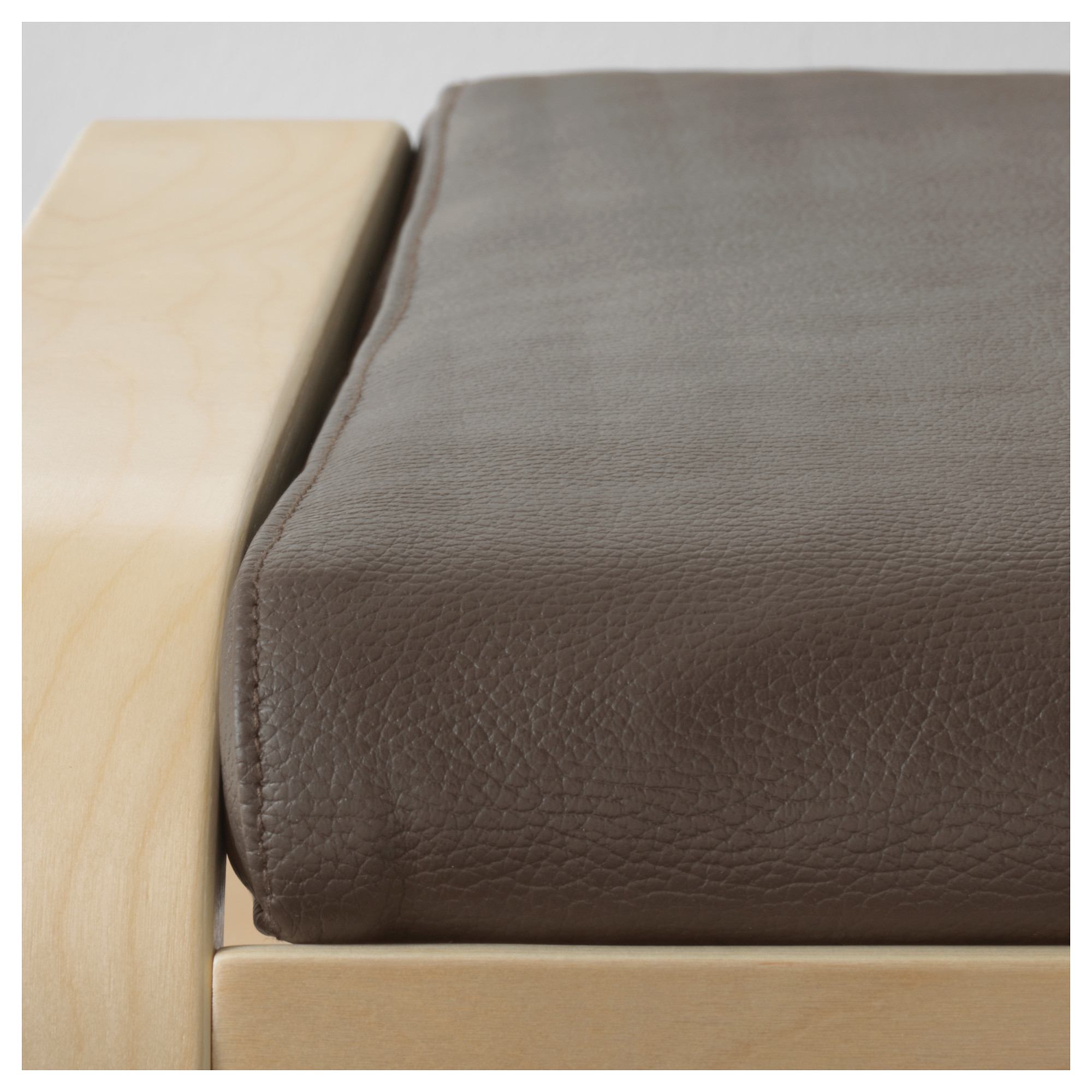 Footstool Not Included Home Garden Ikea Poang Leather