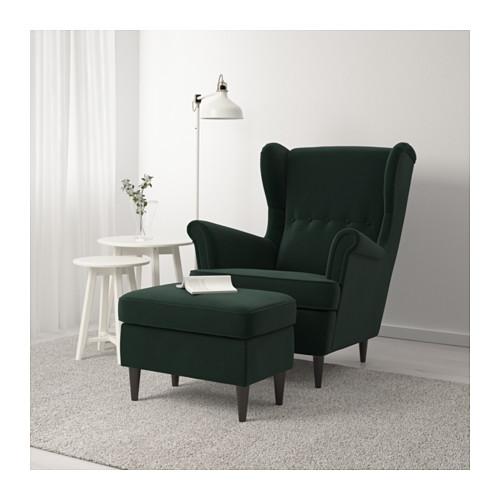 STRANDMON - 腳凳, Djuparp 深綠色 | IKEA 香港及澳門 - PE647257_S4