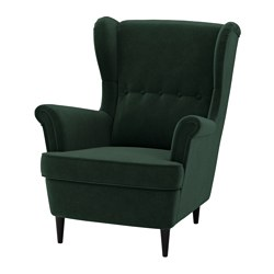 STRANDMON - wing chair, Djuparp dark green | IKEA Hong Kong and Macau - PE647261_S3