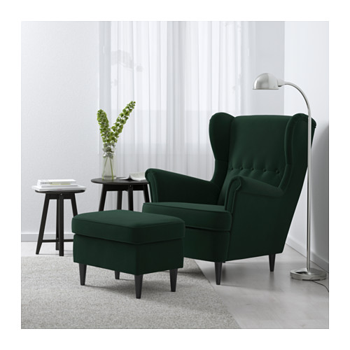 STRANDMON - wing chair, Djuparp dark green | IKEA Hong Kong and Macau - PE647266_S4
