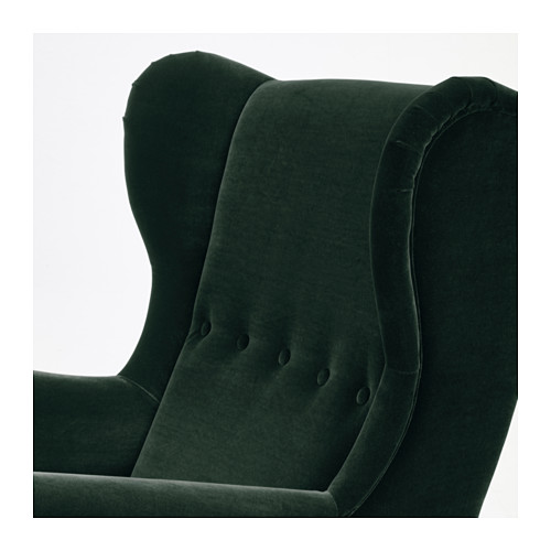 STRANDMON - wing chair, Djuparp dark green | IKEA Hong Kong and Macau - PE647264_S4