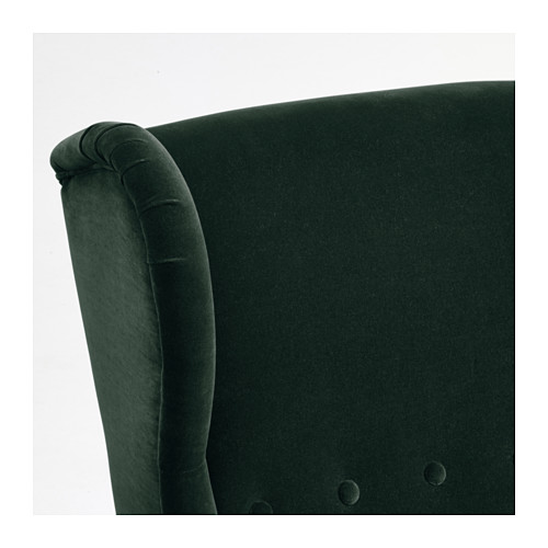 STRANDMON - wing chair, Djuparp dark green | IKEA Hong Kong and Macau - PE647265_S4
