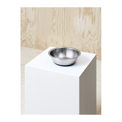LURVIG - 寵物碗, 不銹鋼 | IKEA 香港及澳門 - PH147910_S4