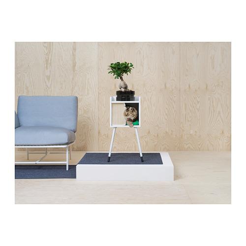 LURVIG - 貓屋連支腳, 白色   IKEA 香港及澳門 - PH147899_S4