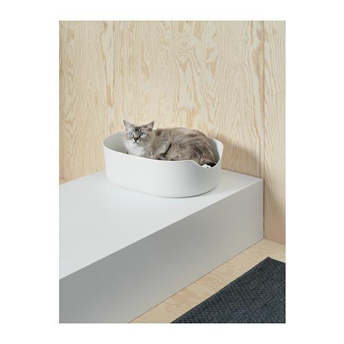 LURVIG - 貓砂盆, 黑色   IKEA 香港及澳門 - PH147901_S4