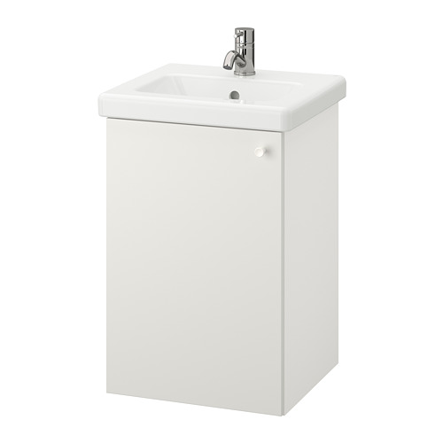 TVÄLLEN/ENHET - 單門洗手盆櫃, 白色/PILKÅN水龍頭 | IKEA 香港及澳門 - PE777143_S4