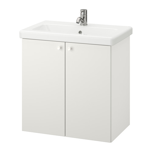 TVÄLLEN/ENHET - wash-basin cabinet with 2 doors, white/Pilkån tap   IKEA Hong Kong and Macau - PE777103_S4