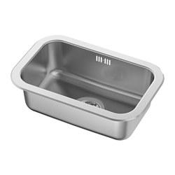 BOHOLMEN - inset sink, 1 bowl, stainless steel | IKEA Hong Kong and Macau - PE585505_S3