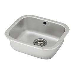 FYNDIG - inset sink, 1 bowl, stainless steel | IKEA Hong Kong and Macau - PE585506_S3