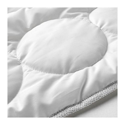 LENAST - 嬰兒被, 白色/灰色   IKEA 香港及澳門 - PE647356_S4