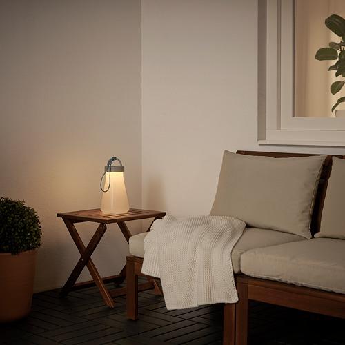 SOLVINDEN - 太陽能LED座檯燈, 灰色/藍色   IKEA 香港及澳門 - PE791101_S4