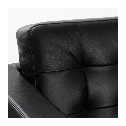 LANDSKRONA - two-seat sofa frame, Grann/Bomstad black | IKEA Hong Kong and Macau - PE585583_S4